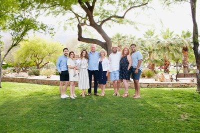 Family vacation photos, Palm Springs California