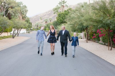 Fun family photo session in Palm Springs Ca.