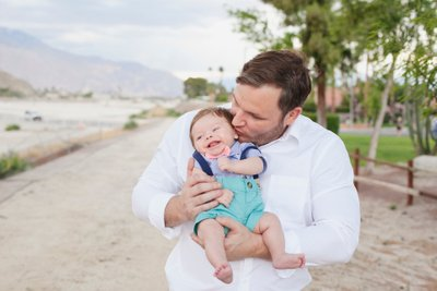 Newborn family photos in Rancho Mirage Ca.