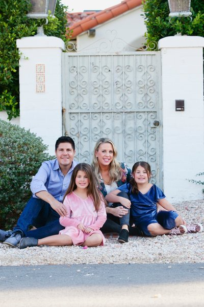California family photographer, Palm Springs