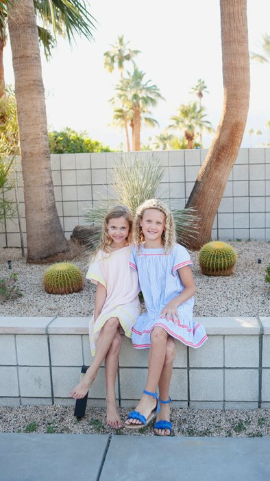 Stylish family photography in Palm Springs California
