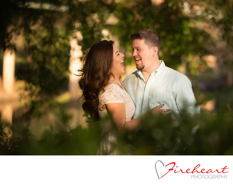 The Woodlands wedding photographer  engagement