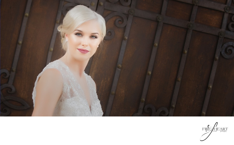 Stunning Bridal by houston wedding photographer