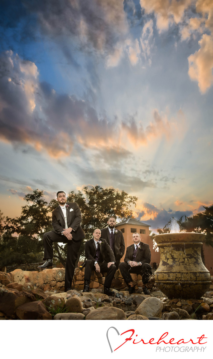 Best Groomsment photos in Houston