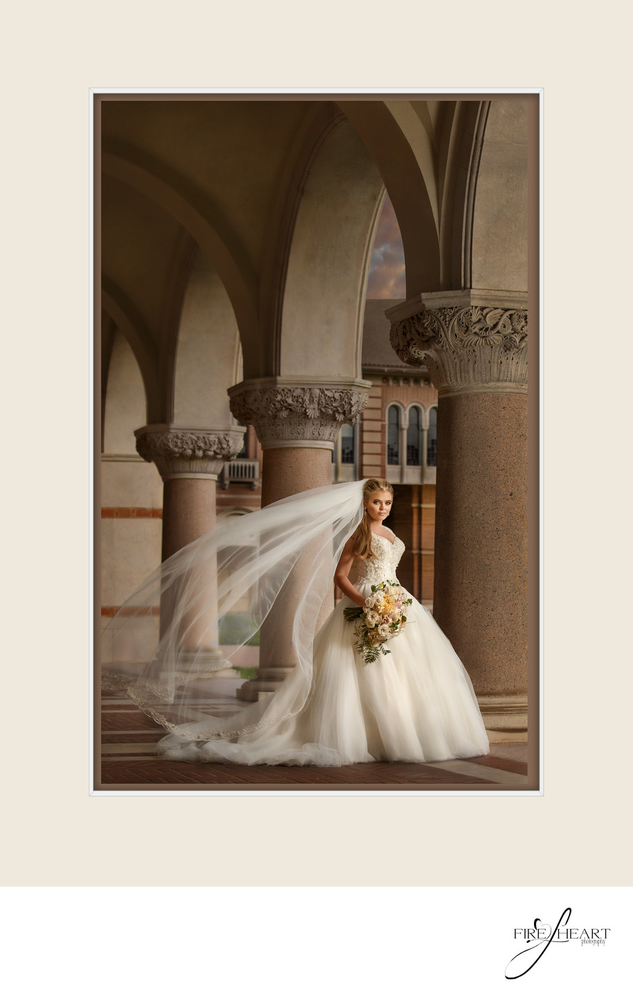 Rice University Bridal Pictures
