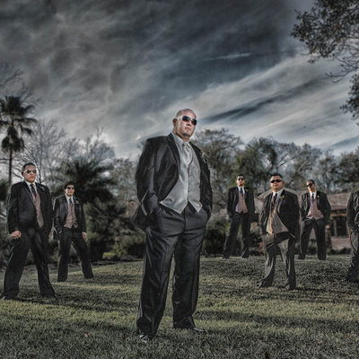 Houston Wedding photographer Agave Estates groomsmen