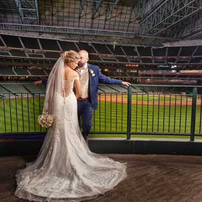 Houston wedding at Minutemaid Park