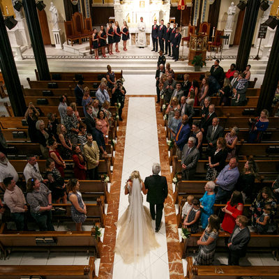 St Mary's Cathderal Galveston Wedding