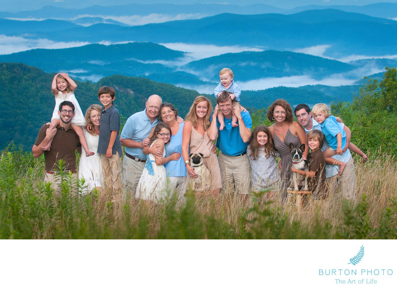 Blowing Rock Family Portrait Photographer