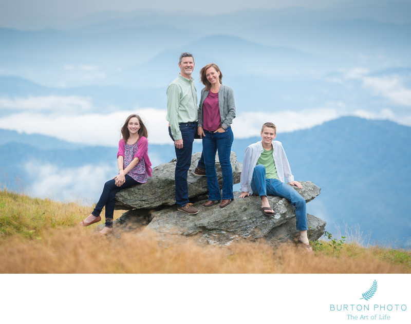 Family Photographer Roan Mountain