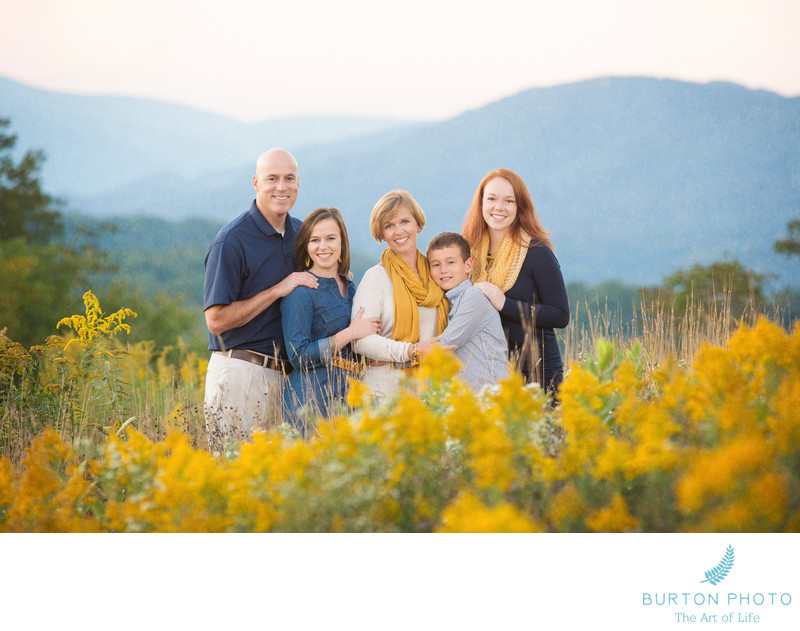 Blowing Rock Family Photographer Blue Ridge Parkway
