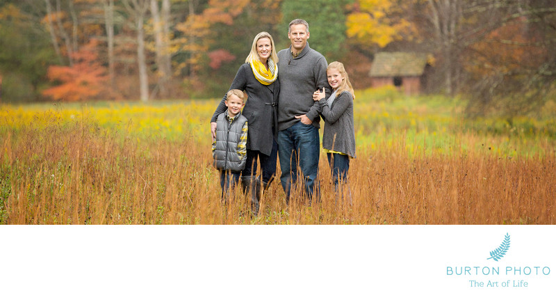 Family Photographers Boone Fall Portrait