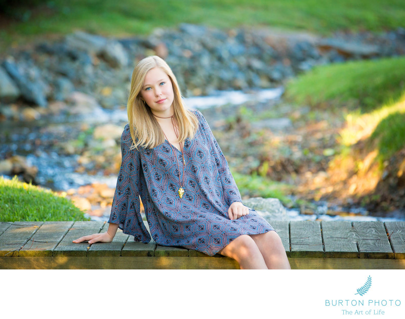 Boone Senior Portrait Photographers West Jefferson