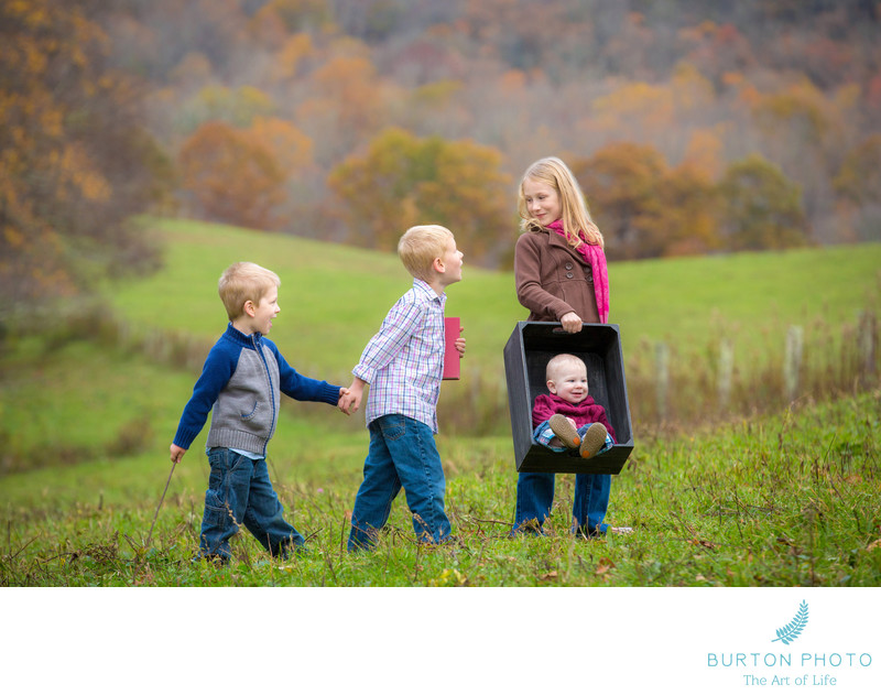 Best Children Portraits Blowing Rock