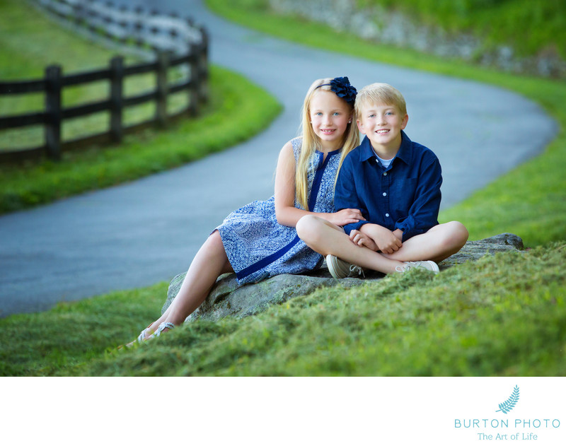Best Blowing Rock Brother Sister Portrait
