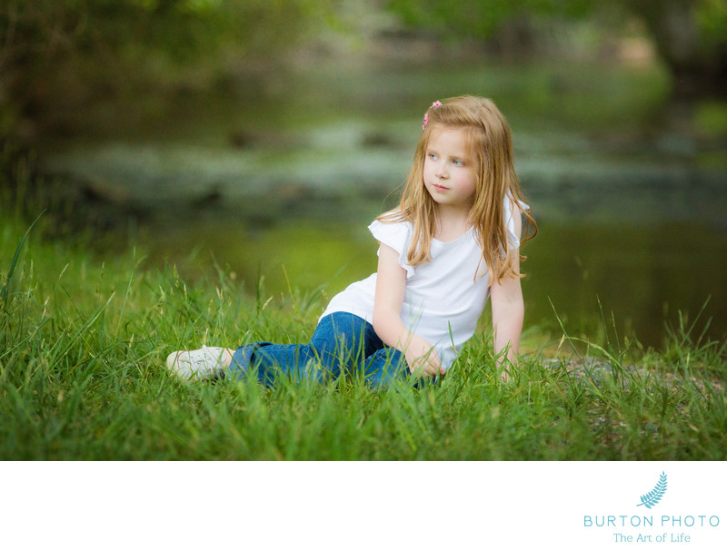 Portraits of Girl at Price Park Blowing Rock