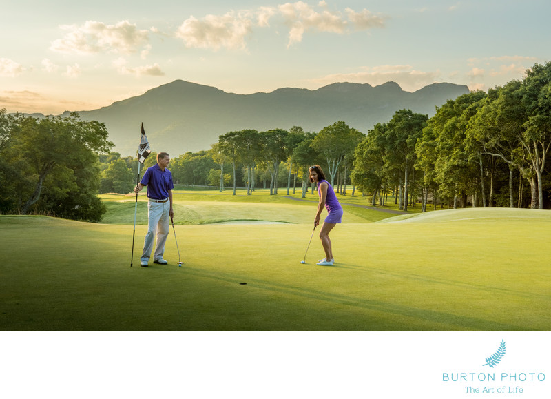 Boone Commercial Lifestyle Photography Golf