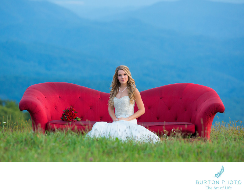 Blowing Rock Wedding Photographer - Bridal Portrait
