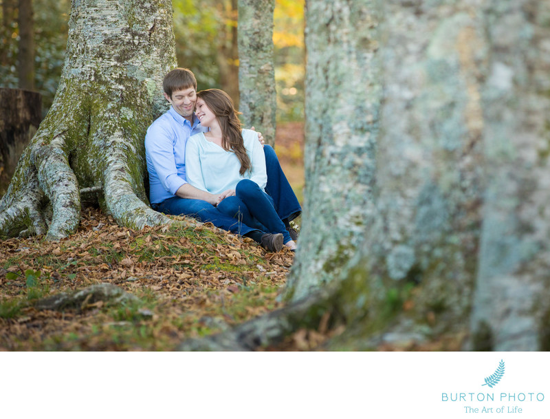 Engagement Picture Blowing Rock