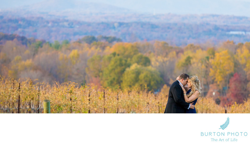 Engagement Portrait Raffadini Vineyards