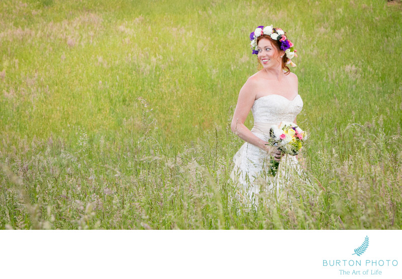 Blue Ridge Parkway Wedding Photographer Bridal Portrait