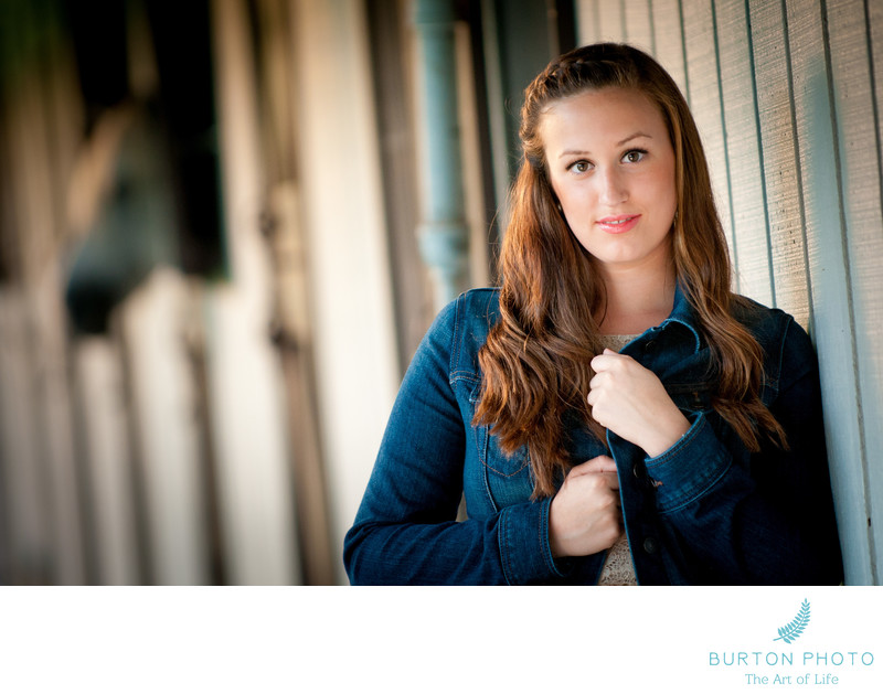 Senior Photos Boone Senior With Her Horse