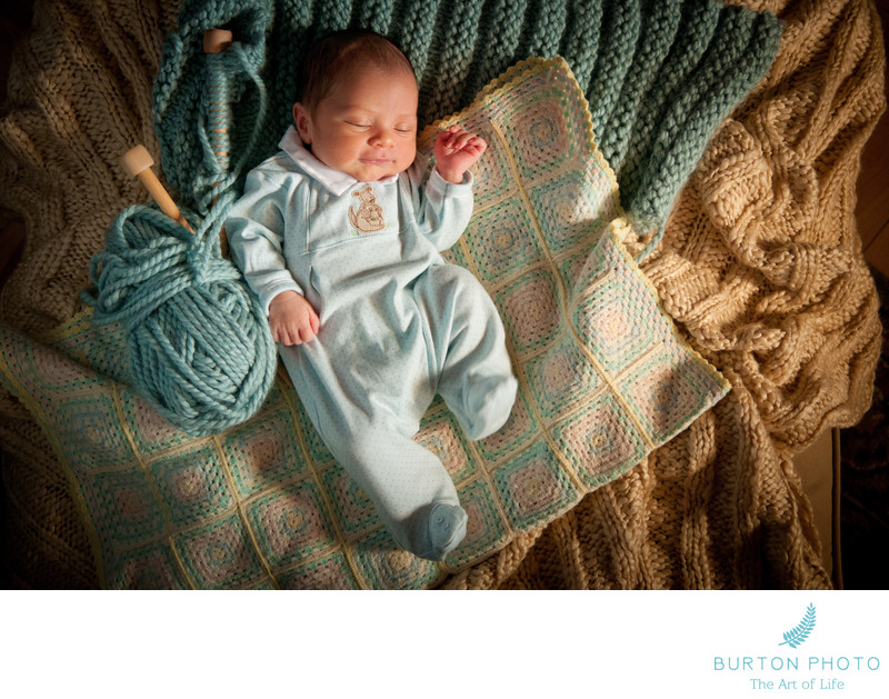 Blowing Rock Newborn Baby Portrait Photographer