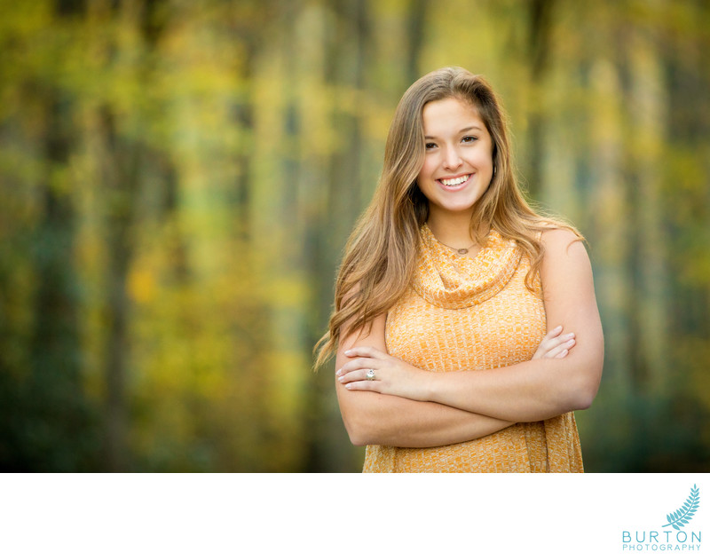 Boone Senior Portrait Emma at Price Park