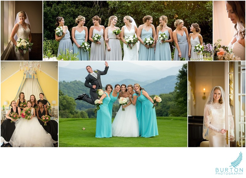 Wedding Day Timeline - Bride and Bridesmaids