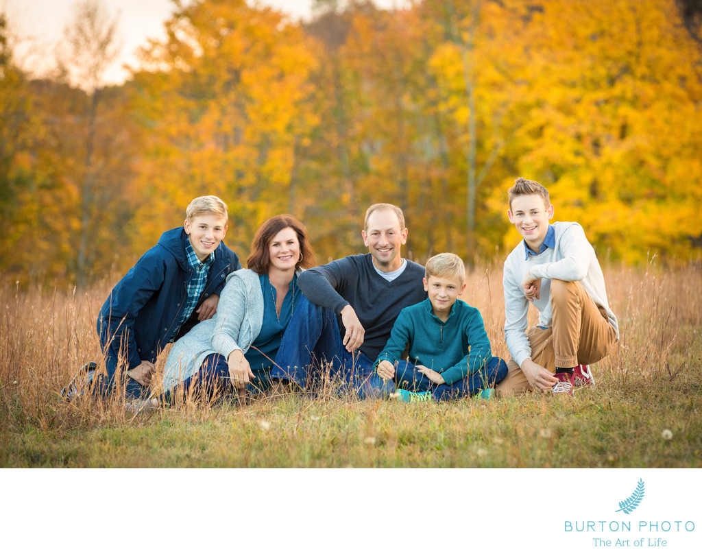Family Portrait MacRae Meadows Linville
