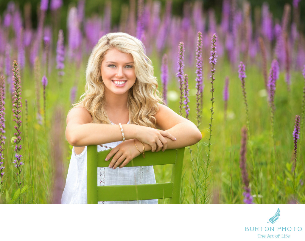 Boone Scenic Senior Portraits Blazing Star
