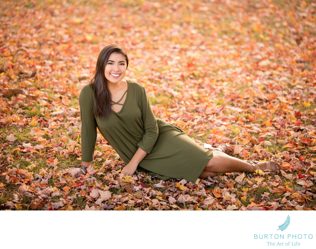 Boone Scenic Senior Portrait MacRae Meadows