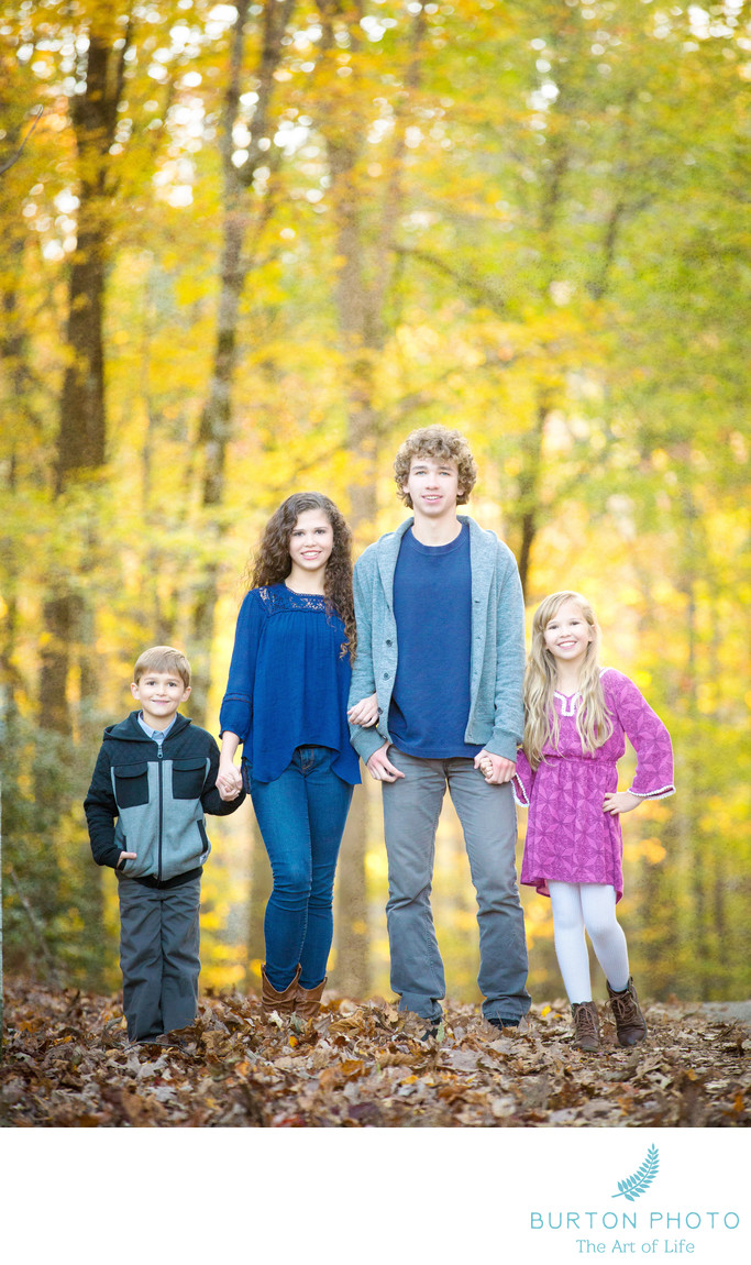 Children Portraits Blowing Rock Siblings