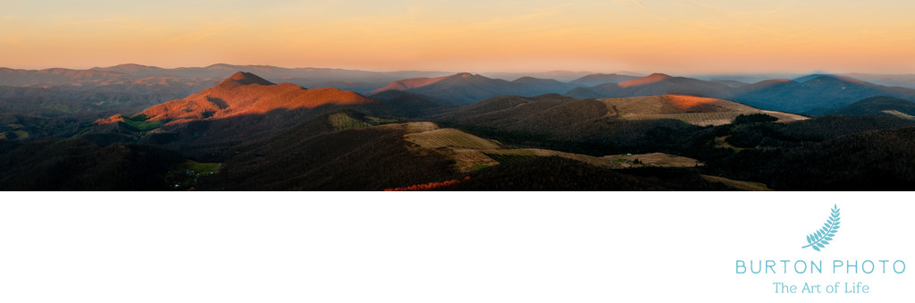 Blue Ridge Parkway Scenic Photographer Linville