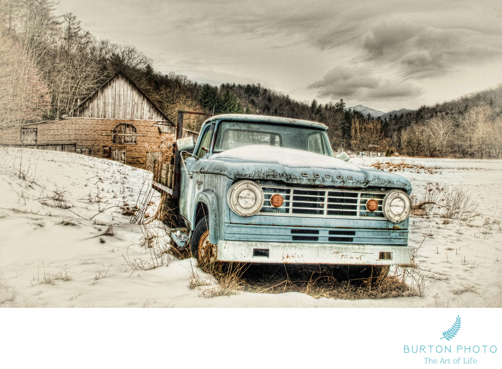 Blue Ridge Parkway Scenic Photographer Old Truck