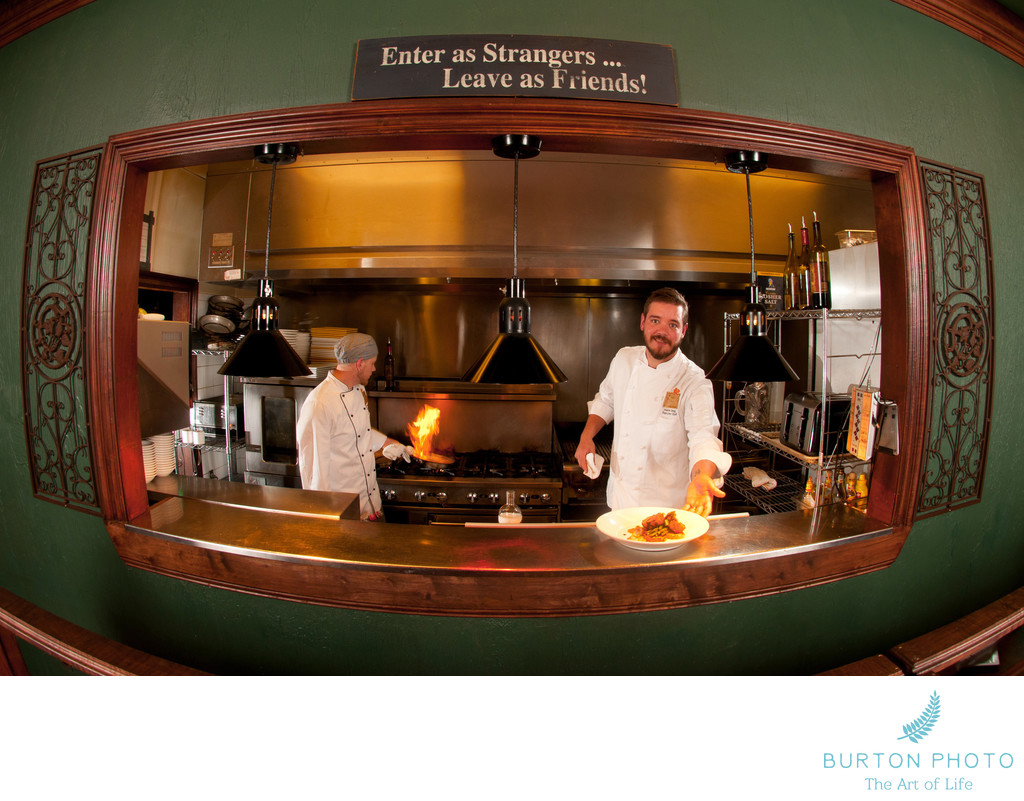 Blowing Rock Commercial Portrait Chef