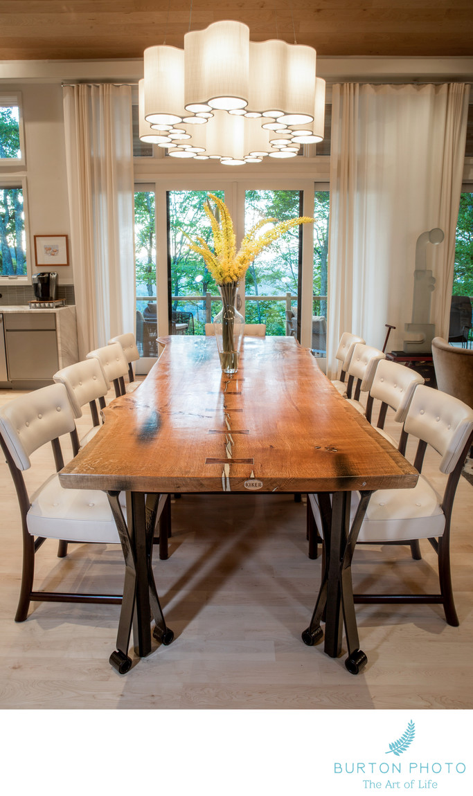 Boone Architectural Photographer Dining Room