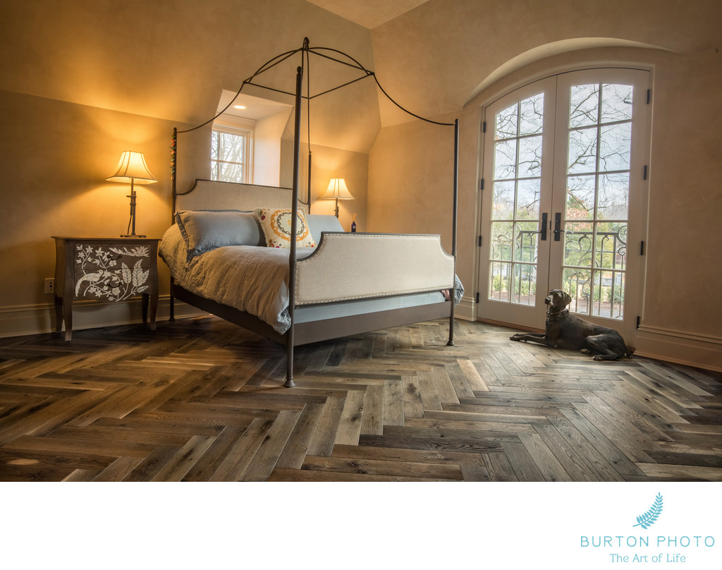 Boone Commercial Wood Floors Bedroom