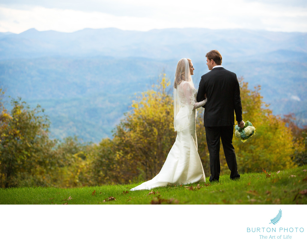 Blowing Rock Wedding Photographers Westglow Spa