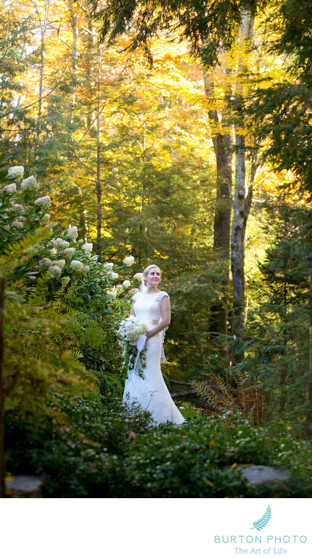 Wedding Photographs at Crestwood Inn Bridal Portrait