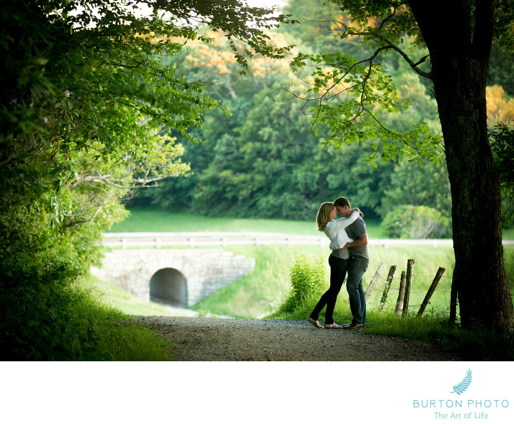 Engagement Session Blue Ridge Parkway