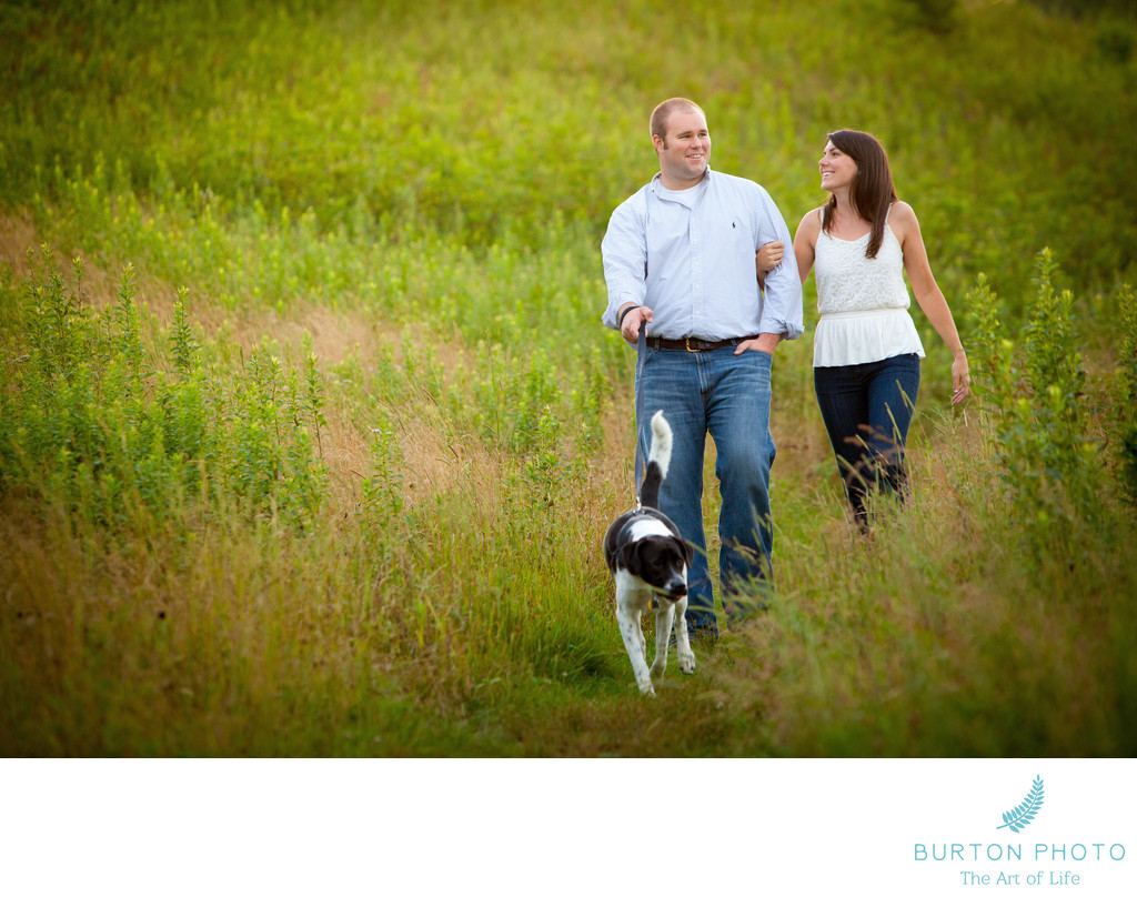 Blue Ridge Parkway Engagement Portraits