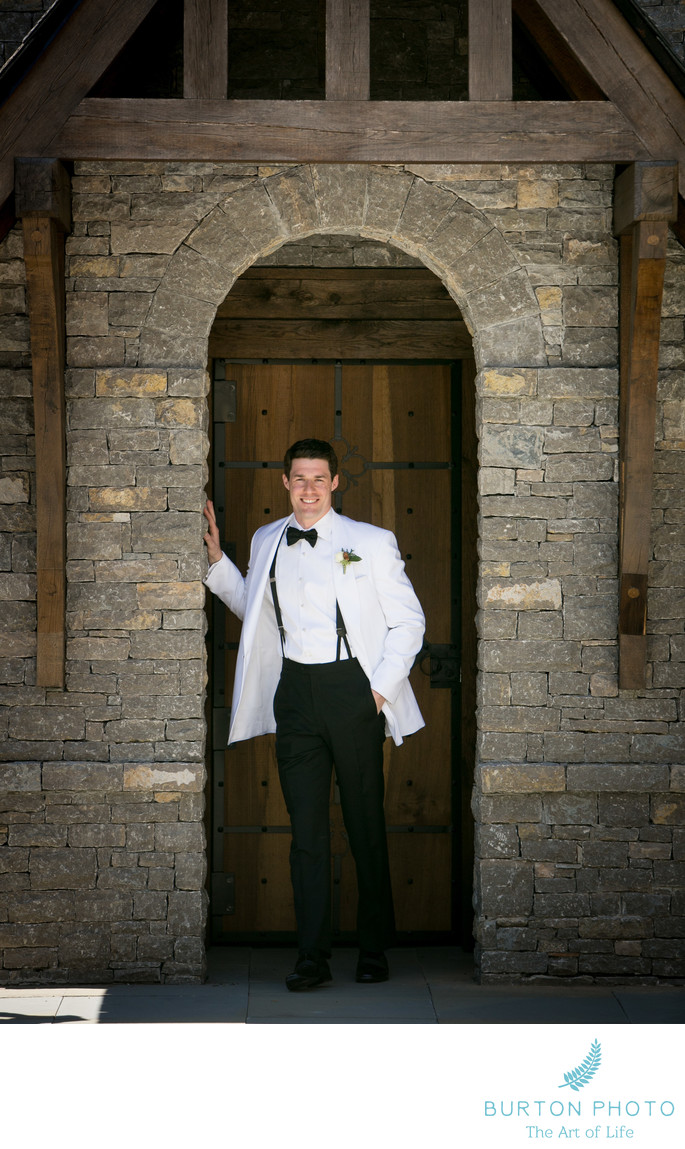 Wedding Photography at St. Bernadette in Linville