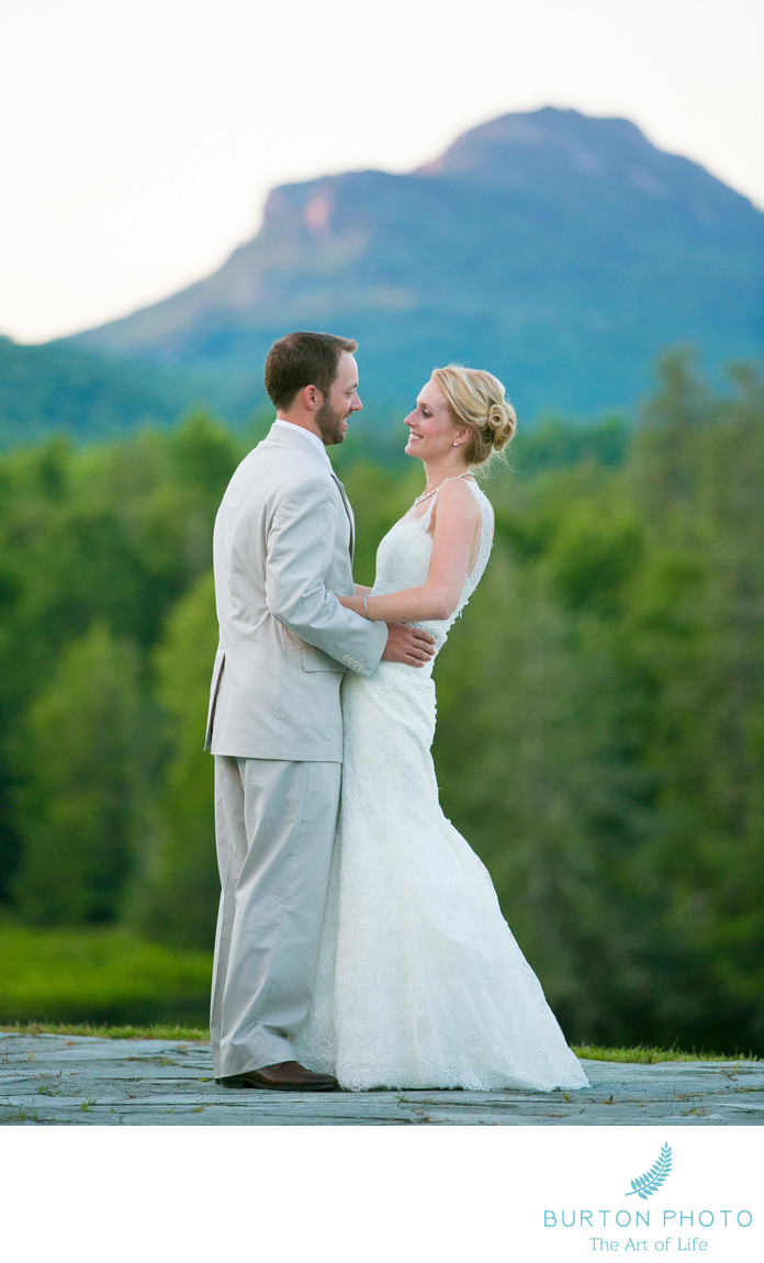 Wedding Pictures in Linville at Eseeola Camp