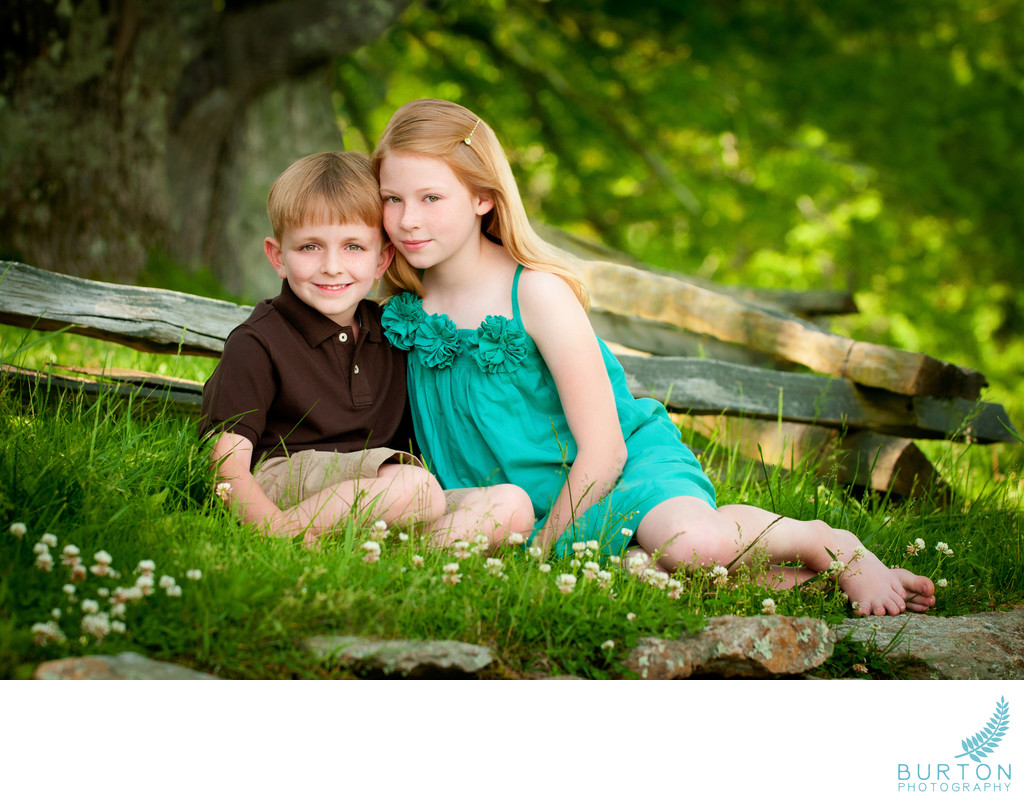 Top Children Photographs Siblings Blowing Rock