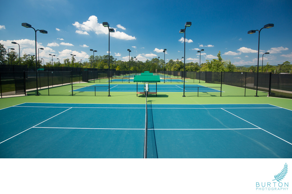Boone Commercial Photographer Rome Tennis Center