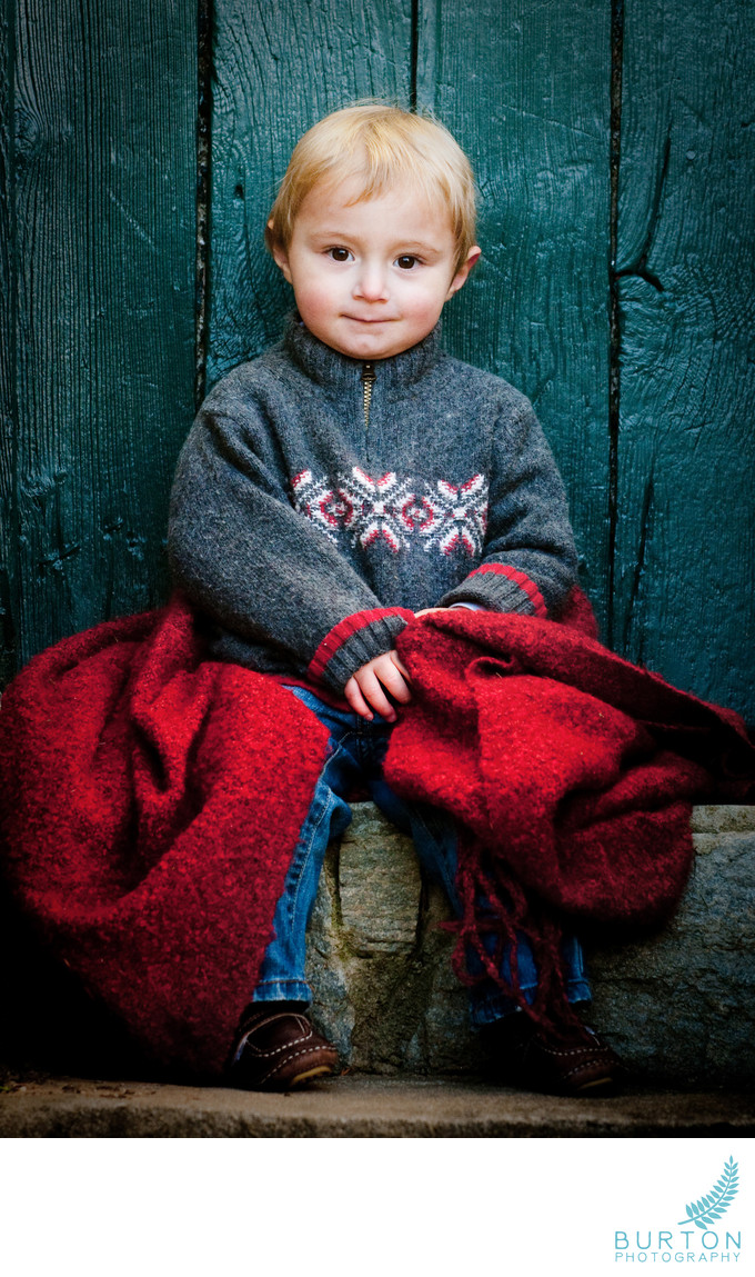 Boone Portrait Photographer Boy in Winter