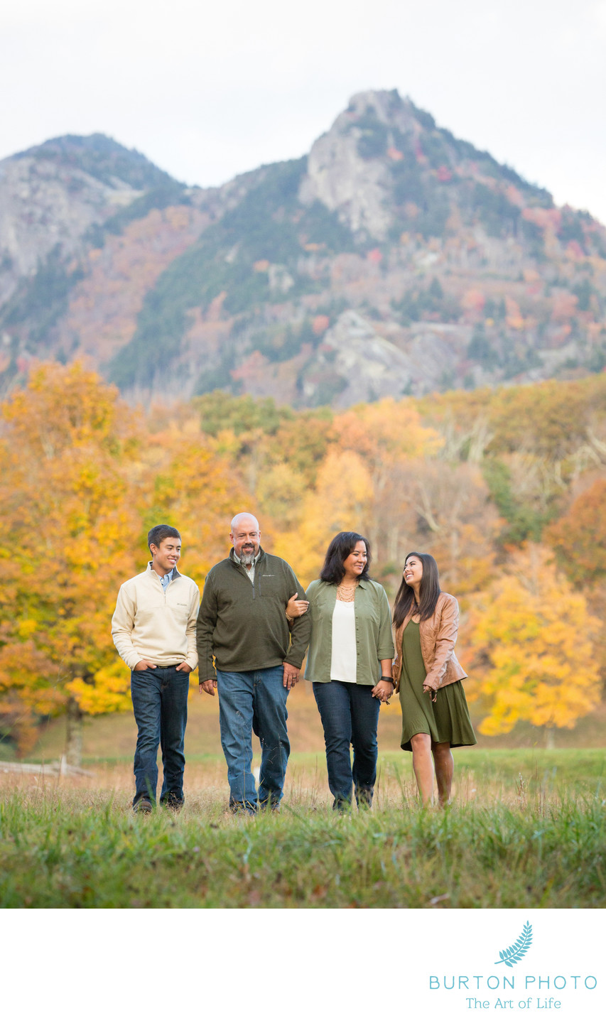 Family Portraits Grandfather Mountain Linville