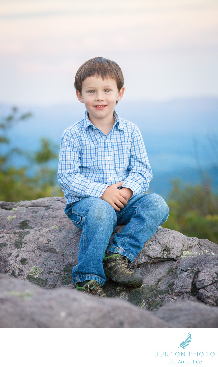 Portrait of Child Grayson Highlands