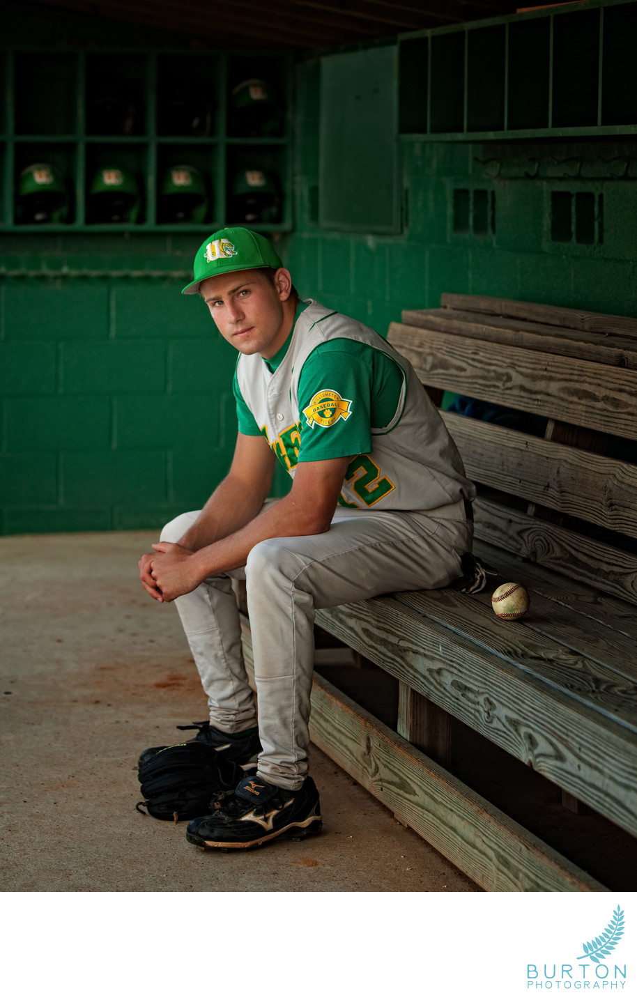 Baseball Senior Portraits Boone